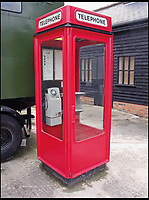 BNPS.co.uk (01202 558833)<br /> Pic: AmberleyPublishing/BNPS<br /> <br /> The Bruce Martin-designed K8 kiosk was a significant departure from the K6, with its new modern styling. This example is on display at Milton Keynes Museum.<br /> <br /> The iconic British phonebox has been given a ringing endorsement in a new book charting the expiring institution's fascinating history. <br /> <br /> Aptly titled 'The British Phonebox', the book primarily focuses on the ubiquitous design that's as emblematic to Britain as the black cab, double decker bus and Houses of Parliament. <br /> <br /> Equally interesting are the early chapters, which detail the phonebox's humble 19th century beginnings and the final ones, that bemoan their dwindling numbers <br /> <br /> The 96 page paperback, jointly authored by friends Nigel Linge and Andy Sutton, is published by Amberley and costs &pound;13.49.