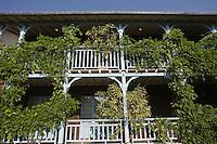 Europe/France/Aquitaine/33/Gironde/Bassin d'Arcachon/ Cap-Ferret: La Maison du Bassin - Terrasses de l' Hôtel