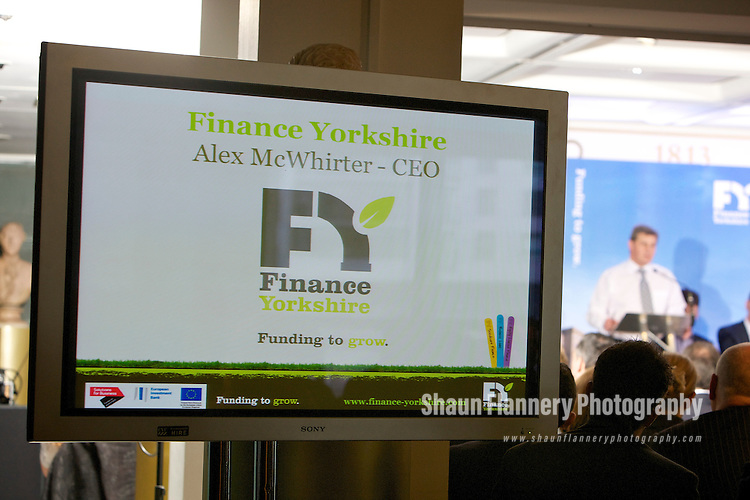 Pix: Shaun Flannery/shaunflanneryphotography.com...COPYRIGHT PICTURE>>SHAUN FLANNERY>01302-570814>>07778315553>>..15th March 2012..Finance Yorkshire Roadshows 2012..The Royal Armouries, Leeds..Alex McWhirter, CEO of Finance Yorkshire.