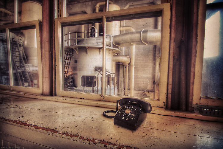 Old Seattle Power Plant telephone