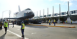 The Shuttle Endeavor's Journey from LAX to the California Science Center Los Angeles, Ca. October 12, 2012. ©Fitzroy Barrett