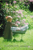Interlitho, CHILDREN, photos, girl, doll's pram(KL1754/1,#K#) Kinder, niños