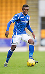 St Johnstone v Hamilton Accies...12.09.15  SPFL McDiarmid Park, Perth<br /> Darnell Fisher<br /> Picture by Graeme Hart.<br /> Copyright Perthshire Picture Agency<br /> Tel: 01738 623350  Mobile: 07990 594431