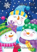 Janet, CHRISTMAS SANTA, SNOWMAN, WEIHNACHTSMÄNNER, SCHNEEMÄNNER, PAPÁ NOEL, MUÑECOS DE NIEVE, paintings+++++,USJS552,#x#