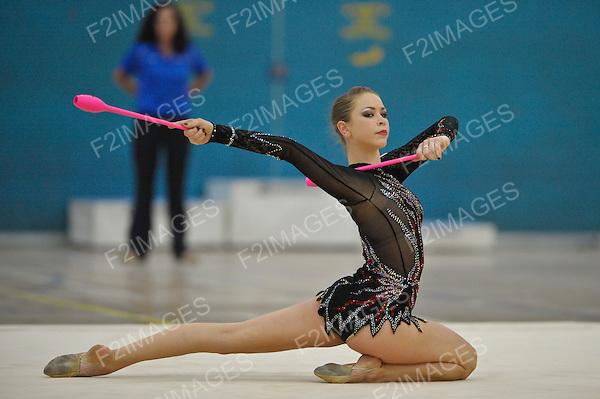 1.7.12  British Rhythmic Gymnastics Championships from Fenton Manor in Stoke on Trent..