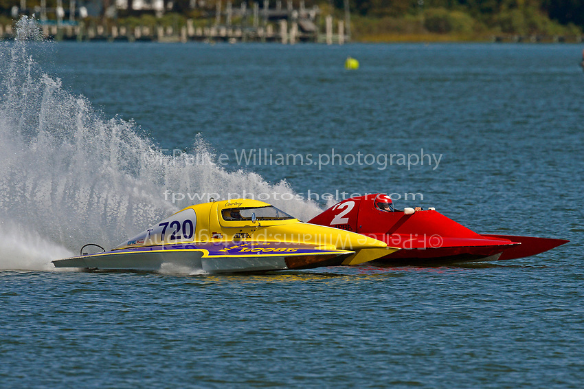 Courtney Stewart, T-720,  Richard Shaw, T-2        (1.5 Litre Stock hydroplane(s)
