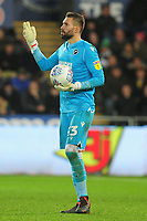 Bartosz Białkowski of Millwall during the Sky Bet Championship match between Swansea City and Millwall at the Liberty Stadium in Swansea, Wales, UK. Saturday 23rd November 2019