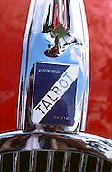August 26th, 1984. Detail of the french Talbot Automobile maker.