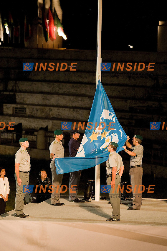 Roma 18th July 2009 - 13th Fina World Championships From 17th to 2nd August 2009..Opening Ceremony..photo: Roma2009.com/InsideFoto/SeaSee.com