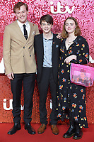 Callum Woodhouse, Milo Parker and Daisy Waterstone<br /> at the ITV Gala 2017 held at the London Palladium, London<br /> <br /> <br /> ©Ash Knotek  D3349  09/11/2017