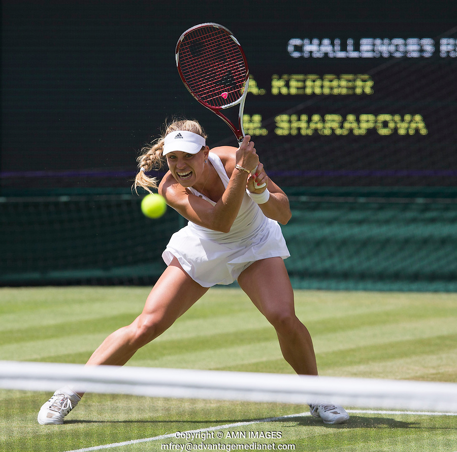 ANGELIQUE KERBER (GER)<br /> <br /> The Championships Wimbledon 2014 - The All England Lawn Tennis Club -  London - UK -  ATP - ITF - WTA-2014  - Grand Slam - Great Britain -  30th June 2014. <br /> <br /> © AMN IMAGES