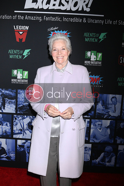 "Lee Meriwether<br /> at ""Excelsior! A Celebration of the Amazing, Fantastic, Incredible & Uncanny Life of Stan Lee,"" TCL Chinese Theater, Hollywood, CA 01-30-19<br /> David Edwards/DailyCeleb.com 818-249-4998"
