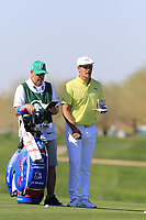 Bryson DeChambeau (USA) on the 5th hole during Saturday's Round 3 of the Waste Management Phoenix Open 2018 held on the TPC Scottsdale Stadium Course, Scottsdale, Arizona, USA. 3rd February 2018.<br /> Picture: Eoin Clarke | Golffile<br /> <br /> <br /> All photos usage must carry mandatory copyright credit (&copy; Golffile | Eoin Clarke)