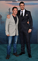 Toby Kebbell &amp; Terry Notary at the premiere for &quot;Kong: Skull Island&quot; at Dolby Theatre, Los Angeles, USA 08 March  2017<br /> Picture: Paul Smith/Featureflash/SilverHub 0208 004 5359 sales@silverhubmedia.com
