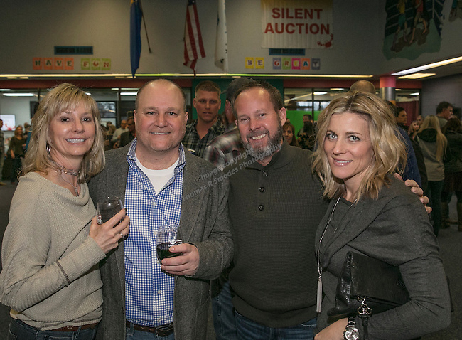 Cori Stauffer, Steve Calabrese, Rick & Taryn Bjelke during the Jack T. Reviglio Cioppino Feed & Auction at the Donald W. Reynolds Facility in Reno on Saturday, February 25, 2017.