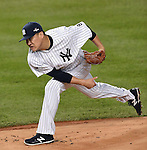 Masahiro Tanaka (Yankees), OCTOBER 6, 2015 - MLB : New York Yankees starting pitcher Masahiro Tanaka pitches during the American League Wild Card Game against the Houston Astros at Yankee Stadium in New York, United States. (Photo by AFLO)