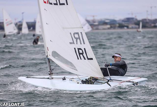 Laser dinghy racing at the 2019 Volvo Dun Laoghaire Regatta Photo: Afloat