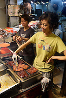 Gark&uuml;che in Kowloon, Hongkong, China<br /> foodstall in Kowloon, Hongkong, China