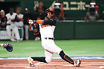 Jurickson Profar (NED), <br /> MARCH 12, 2017 - WBC : <br /> 2017 World Baseball Classic <br /> Second Round Pool E Game <br /> between Japan 8-6 Netherlands <br /> at Tokyo Dome in Tokyo, Japan. <br /> (Photo by YUTAKA/AFLO SPORT)