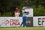 Golfer Supamas Sangchan of Thailand  during the 2017 Hong Kong Ladies Open on June 9, 2017 in Hong Kong, China. Photo by Chris Wong / Power Sport Images