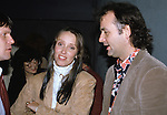 Shelley Duvall & Bill Murray attend a party celebrating the release of TIME BANDITS at the Underground Disco in New York City on November 14, 1981