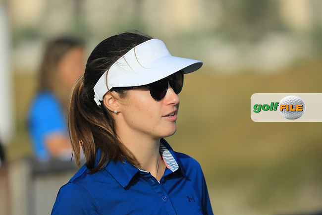 Laura Fuenfsteuck (GER) during the first round of the Fatima Bint Mubarak Ladies Open played at Saadiyat Beach Golf Club, Abu Dhabi, UAE. 10/01/2019<br /> Picture: Golffile | Phil Inglis<br /> <br /> All photo usage must carry mandatory copyright credit (&copy; Golffile | Phil Inglis)