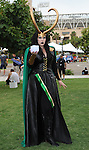 Loki Fan at Comic-Con 2014 in San Diego, Ca. July 26, 2014.
