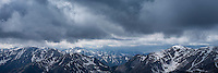 Stormy weather over Tatra mountains, Poland/Slovakia
