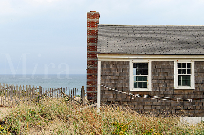 Small Cape Cod cottage overlooking the ocean, Wellfleet, Cape Cod, MA