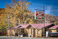 Low Gap General Store in the Low Gap comminty along the Buffalo National River in Arkansas.