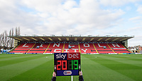 A general view of Sincil Bank, home of Lincoln City FC, prior to the first game of the new calendar year<br /> <br /> Photographer Chris Vaughan/CameraSport<br /> <br /> The EFL Sky Bet League Two - Lincoln City v Port Vale - Tuesday 1st January 2019 - Sincil Bank - Lincoln<br /> <br /> World Copyright © 2019 CameraSport. All rights reserved. 43 Linden Ave. Countesthorpe. Leicester. England. LE8 5PG - Tel: +44 (0) 116 277 4147 - admin@camerasport.com - www.camerasport.com