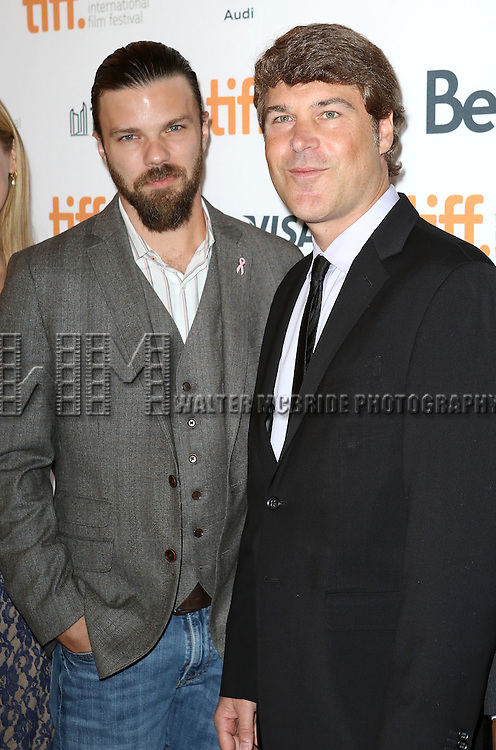 "Brad Coolidge, Todd J. Labarowski during the 2013 Tiff Film Festival Gala Red Carpet Premiere for ""The Disappearance of Eleanor Rigby""  at the Elgin Theatre  on September 9, 2013 in Toronto, Canada."