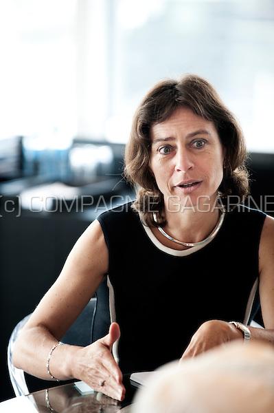 Dominique Leroy, CEO of Belgacom (Belgium, 18/06/2014)