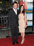 Jason Bateman & wife at The Universal Pictures Premiere of Couples Retreat held at The Village Theatre in Westwood, California on October 05,2009                                                                   Copyright 2009 DVS / RockinExposures