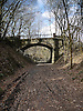 One of the many unused and dismantled Railway tracks in Wales. This one is in Trawscoed, Llanafan, Ceredigion, West Wales and shows a fine example of a bridge.<br />