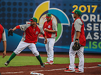 Oliver Perez pitcher de Mexico.<br /> Aspectos del partido Mexico vs Italia, durante Cl&aacute;sico Mundial de Beisbol en el Estadio de Charros de Jalisco.<br /> Guadalajara Jalisco a 9 Marzo 2017 <br /> Luis Gutierrez/NortePhoto.com
