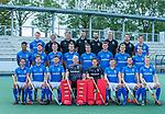 UTRECHT -  Teamfoto: voor: Pepijn Luijkx (Kampong) , Lars Balk (Kampong) , Robbert Kemperman (Kampong) , keeper David Harte (Kampong) , keeper David Wolff (Kampong) , Sander de Wijn (Kampong) , Martijn Havenga (Kampong) , Jip Janssen (Kampong).  midden: Terrance Pieters (Kampong), , Floris de Ridder (Kampong) , Derck de Vilder (Kampong) , Casper Roelofs (Kampong) , Jasper Luijkx (Kampong) , Jonas de Geus (Kampong), Silas Lageman (Kampong) , Boet Phijffer (Kampong) .achter: Ties Ceulemans (Kampong) ,assistent-coach Alex Verga (Kampong) ,manager Hans Roelofs (Kampong) , looptrainer Emiel Mellaard,, coach Alexander Cox (Kampong) , Martijn Korthals (video), fysio Martijn Snoeck,  Bram van Battum (Kampong) Kampong Heren I , seizoen 2019/2020. COPYRIGHT KOEN SUYK