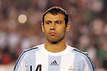June 04 2008:  Javier Mascherano (Liverpool / ENG) (14) of Argentina.  During Mexico's 2008 USA Tour in preparation for qualification for FIFA's 2010 World Cup, the national soccer team of Mexico was defeated by Argentina 1-4 at Qualcomm Stadium, in San Diego, CA.