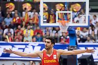 Spain Jaime Fernandez during FIBA European Qualifiers to World Cup 2019 between Spain and Slovenia at Coliseum Burgos in Madrid, Spain. November 26, 2017. (ALTERPHOTOS/Borja B.Hojas) /NortePhoto NORTEPHOTOMEXICO