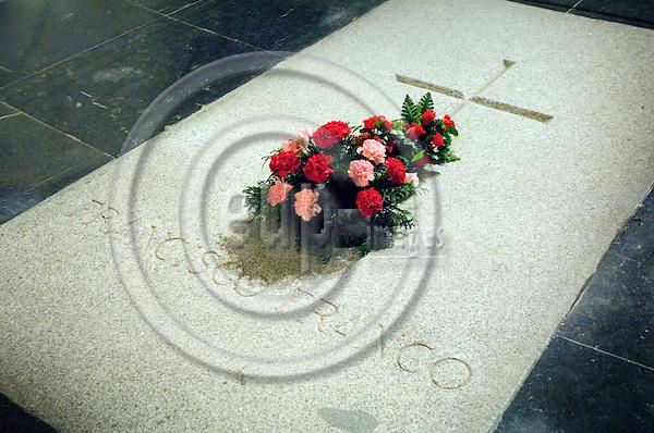 MADRID - SPAIN 4 MAR 2008 -- The grave of Franco outside Madrid. -- © GORM K. GAARE/  EUP- IMAGES.