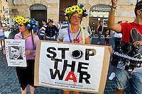 La Comunità ucraina protesta contro Putin
