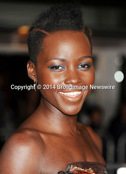 Pictured: Lupita Nyong'o<br /> Mandatory Credit &copy; Joseph Gotfriedy/Broadimage<br /> &quot;Non-Stop&quot; - Los Angeles Premiere<br /> <br /> 2/24/14, Westwood, California, United States of America<br /> <br /> Broadimage Newswire<br /> Los Angeles 1+  (310) 301-1027<br /> New York      1+  (646) 827-9134<br /> sales@broadimage.com<br /> http://www.broadimage.com