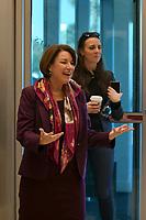 Las Vegas, NV - FEBRUARY 14: Amy Klobuchar Touring The Culinary Health Center in Las Vegas, Nevada on February 14, 2020. <br /> CAP/MPI/DAM<br /> ©DAM/MPI/Capital Pictures