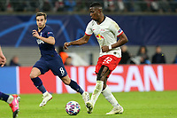 Nordi Mukiele of RB Leipzig and Harry Winks of Tottenham Hotspur during RB Leipzig vs Tottenham Hotspur, UEFA Champions League Football at the Red Bull Arena on 10th March 2020