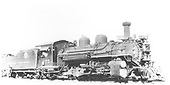3/4 right side view of K-28 #475 at Hermosa.<br /> D&amp;RGW  Hermosa, CO  7/18/1939