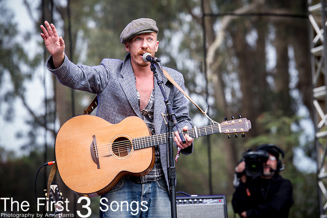 Foy Vance performs at the Outside Lands Music & Art Festival at Golden Gate Park in San Francisco, California.