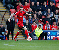Leyton Orient's Michael Collins in action during the Sky Bet League 2 match between Leyton Orient and Grimsby Town at the Matchroom Stadium, London, England on 11 March 2017. Photo by Carlton Myrie / PRiME Media Images.