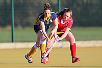 Romford HC Ladies 2nd XI vs Upminster HC Ladies 4th XI 13-12-14