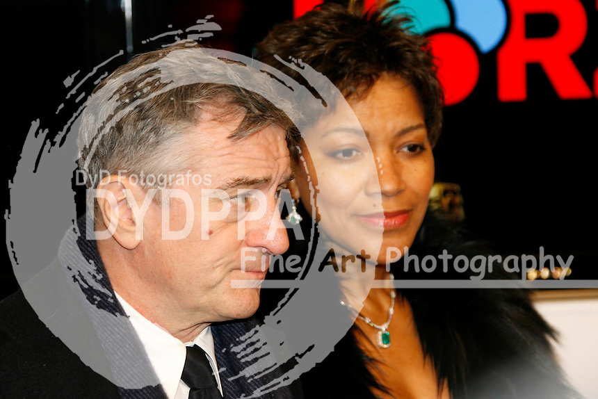 Actor Robert De Niro and wife Gattin Grace Hightower attend the 43rd Golden camera Award / 43. Verleihung der Goldenen Kamera at Axel Springer Verlagshaus, Berlin
