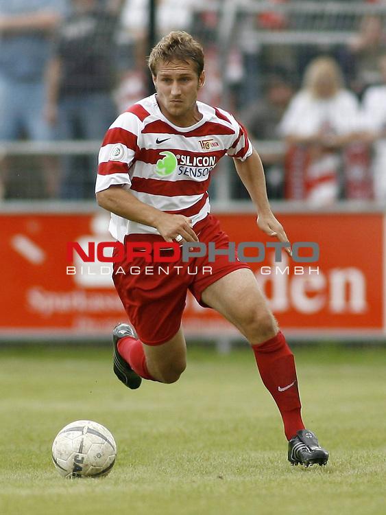 RLN 2007/2008 4. Spieltag Hinrunde<br /> BSV Kickers Emden - 1. FC Union Berlin<br /> Alexej Spasskov (Union#2)<br /> <br /> Foto &copy; nph (  nordphoto  )<br /> <br /> <br /> <br />  *** Local Caption ***